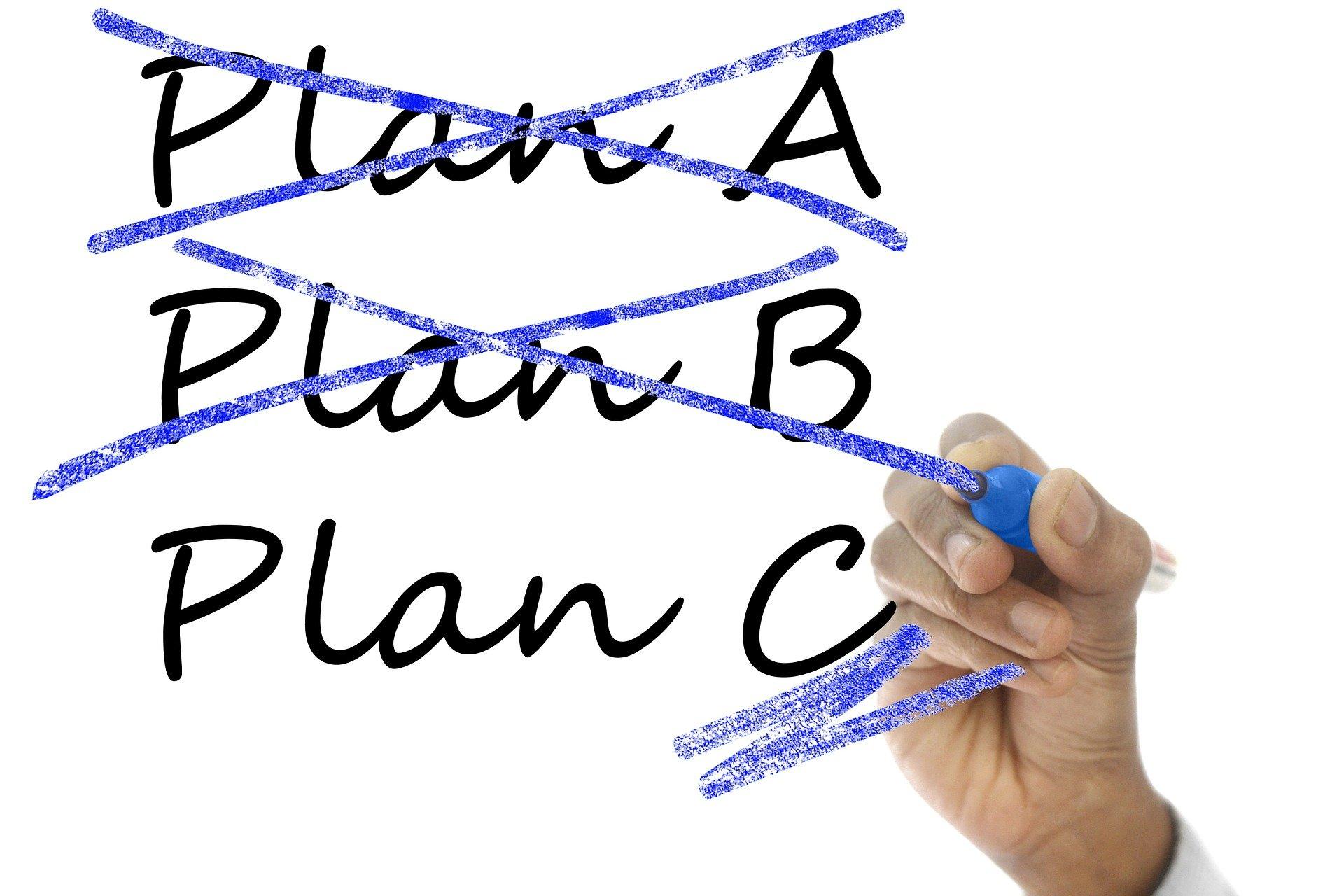 whiteboard plans