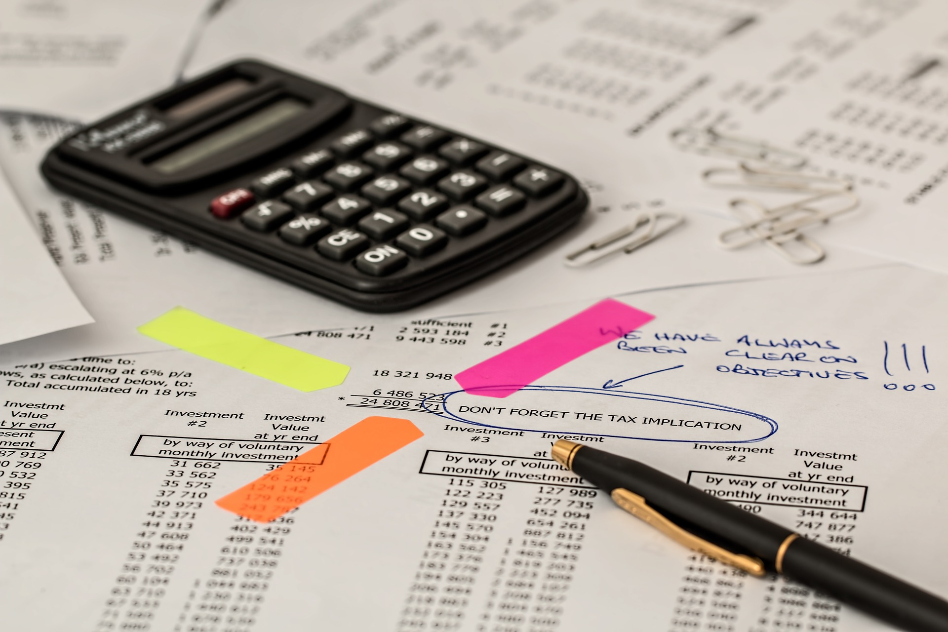 tax implication of selling a business